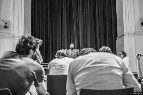 Mimmo Cuticchio, Laboratorio di narrazione - © Valerio Bellone