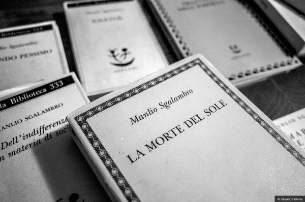 Manlio Sgalambro, Del pensare breve - © Valerio Bellone