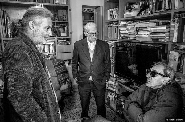 Manlio Sgalambro, Del pensare breve - Franco Battiato - © Valerio Bellone